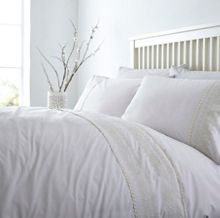 Linea Anastasia embroidery duvet cover set