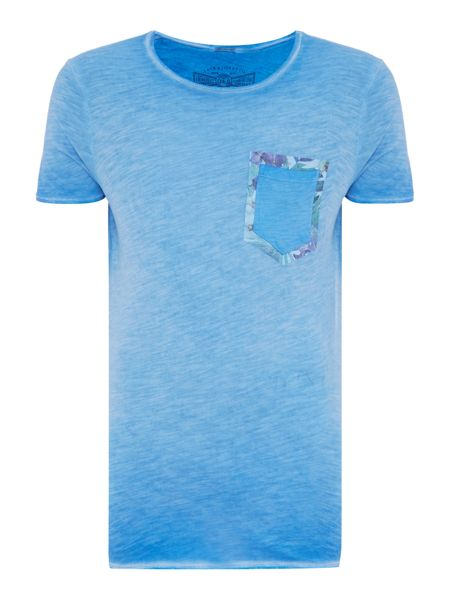 Jack & Jones Oil Wash Pocket Crew Neck T-shirt