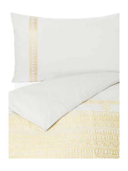 Linea Global artisan embroidery duvet cover set