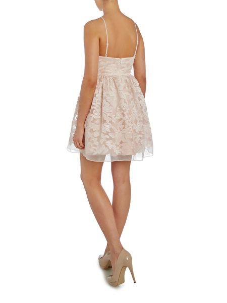 Lipsy Ariana Grande Sleeveless Fit & Flare Dress