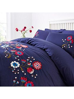 Gretel embroidery duvet cover set
