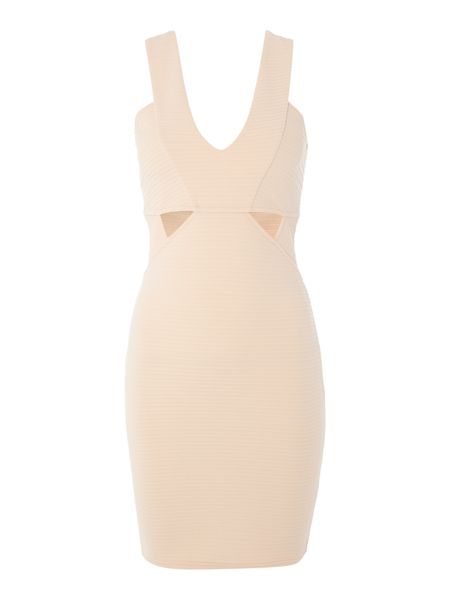 Lipsy Ariana Grande Sleeveless Cutout Bodycon Dress