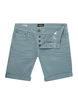 Original Fit Coloured Denim Shorts
