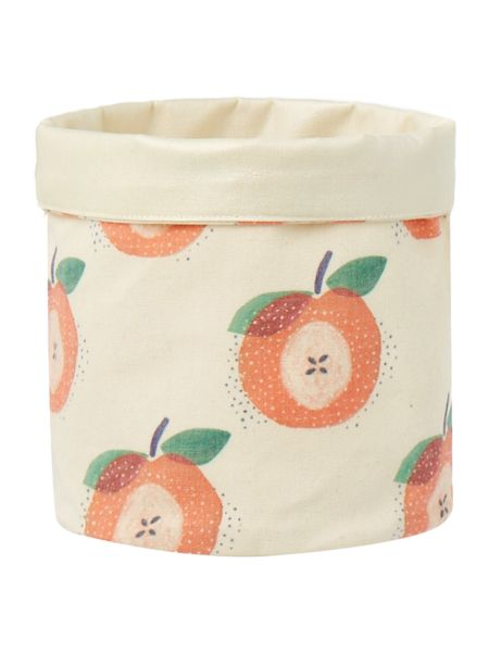 Dickins & Jones Storage bag with apple design