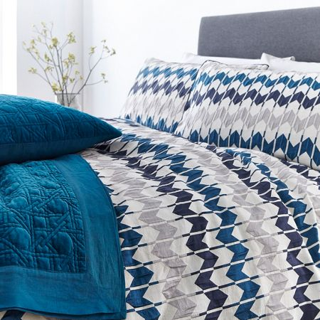 Living by Christiane Lemieux Tahlia jacquard duvet cover