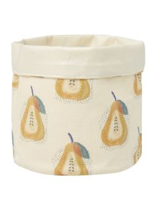 Dickins & Jones Storage bag with pear design