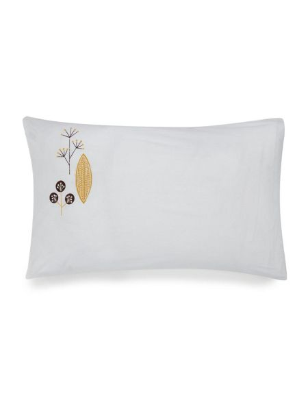 Dickins & Jones Elsa embroidery pillowcase pair