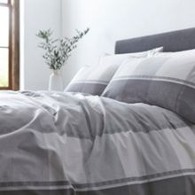 Gray & Willow Marsta check duvet cover
