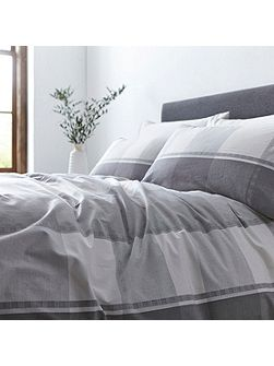 Marsta check duvet cover