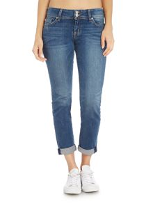 Hudson Jeans Ginny straight jean with ankle cuff