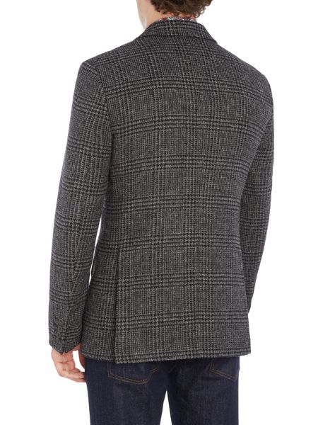 New & Lingwood Gainsborough Lambswool POW check blazer