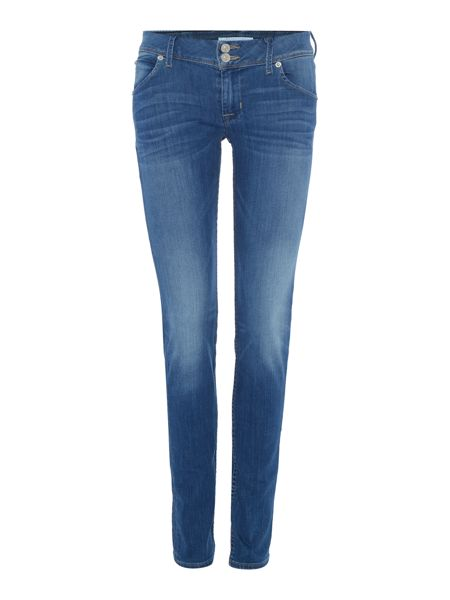 Hudson Jeans Collin mid rise skinny in freestyle