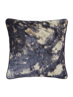 Abstract velvet cushion