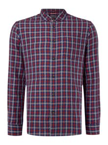 Criminal Davies 3 Colour Gingham LS Shirt