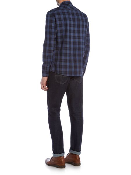 Criminal Darwen Check Long Sleeve Shirt