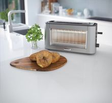 Kenwood Glass Persona 1 Long Slot Toaster