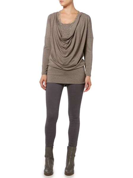 Gray & Willow Layered tunic top