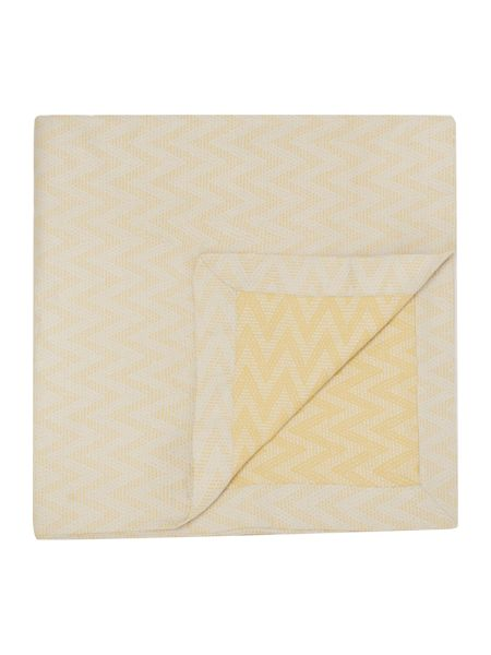 Living by Christiane Lemieux Greenwich chevron jacquard bedspread