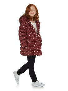 Little Dickins & Jones Girls Padded star print coat