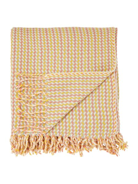 Dickins & Jones Multi weave throw