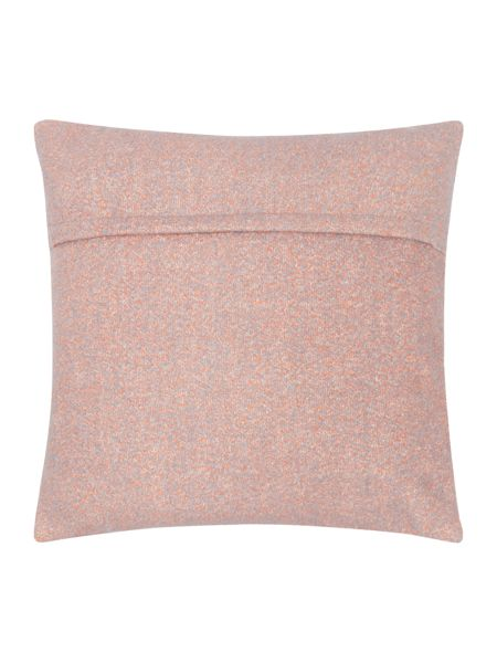 Dickins & Jones Bright boucle cushion, coral