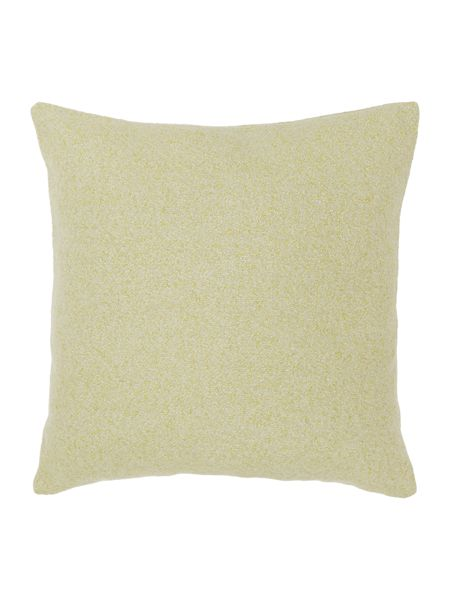 Dickins & Jones Bright boucle cushion, green
