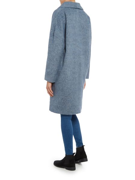 Maison De Nimes Soft Revere Brushed Wool Coat