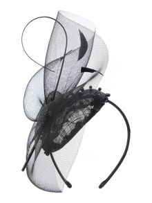 Linea Jazz Diamante Pill Box Fascinator