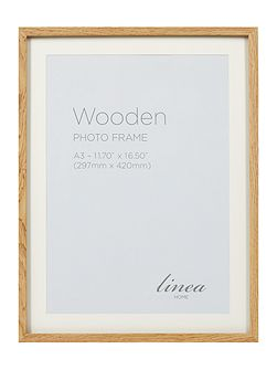 Pale Wood A3 Poster Frame
