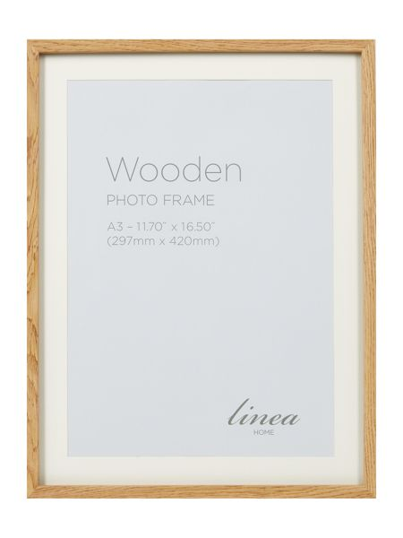 Linea Pale Wood A3 Poster Frame