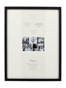 Linea Black Wood Memories Frame