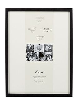 Black Wood Memories Frame