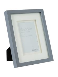 Linea Grey wood frame, 4 x 6