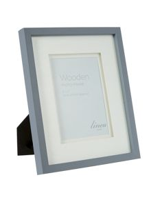 Linea Grey wood frame, 5 x 7 (Hi- Lo)