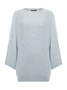 Vila Sleeveless Fleck Jumper