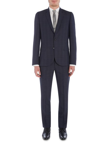 PS By Paul Smith Notch Check Suit Jacket
