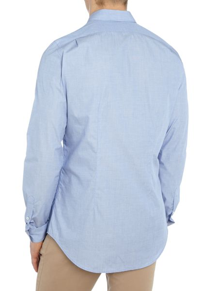 PS By Paul Smith Tailored Fit Chambray Shirt