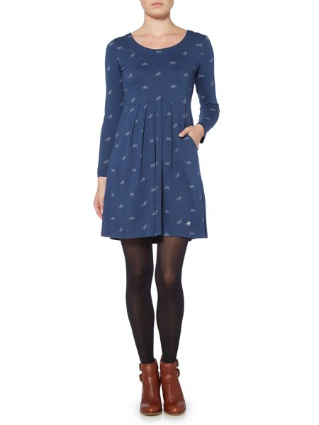 Brakeburn Bicycles Long Sleeve Dress