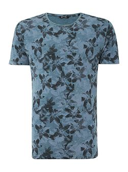 All Over Print Floral T-shirt