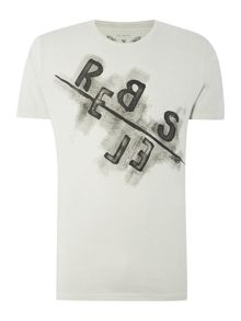 Only & Sons Graphic Print Crew Neck Short Sleeve T-shirt