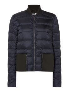 Sportmax Code Moena padded short coat with pockets