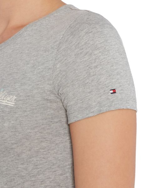 Tommy Hilfiger Organic crew neck short sleeve lounge t-shirt