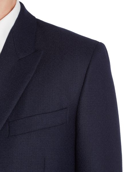 PS By Paul Smith Double Breasted Textured Wool Blazer