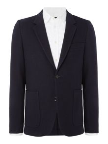 PS By Paul Smith Textured Patch Pocket Blazer