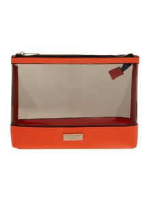 Lipsy Summer beach clutch