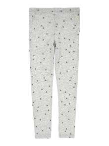 Joules Girls Star print leggings