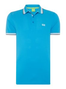 Hugo Boss Regular fir paddy tipped logo polo shirt