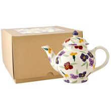Emma Bridgewater Wallflower 4 Mug Teapot Boxed