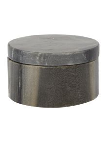 Gray & Willow Grey marble salt and pepper pinch pot