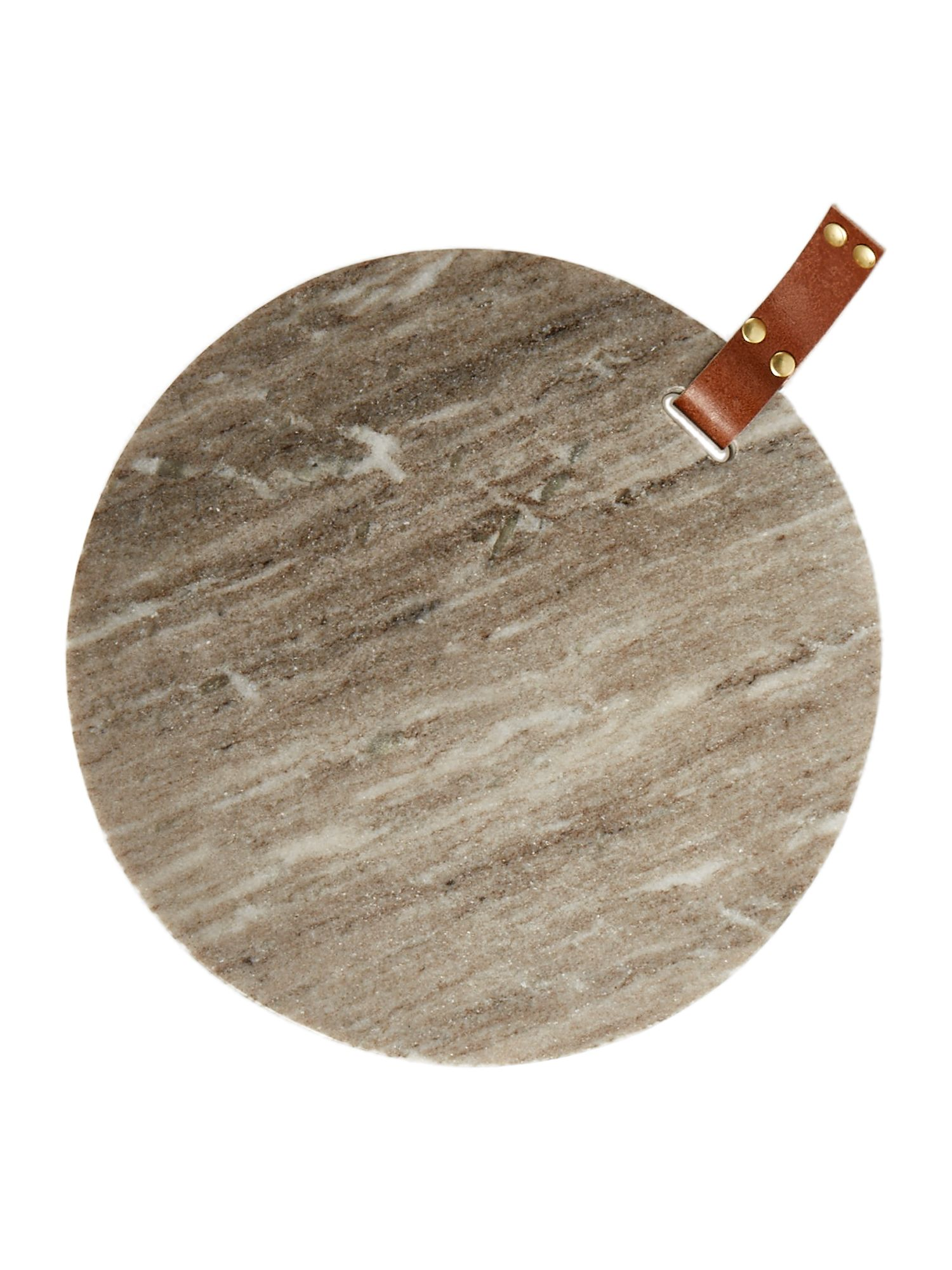 Image of Gray & Willow Beige marble cheese board